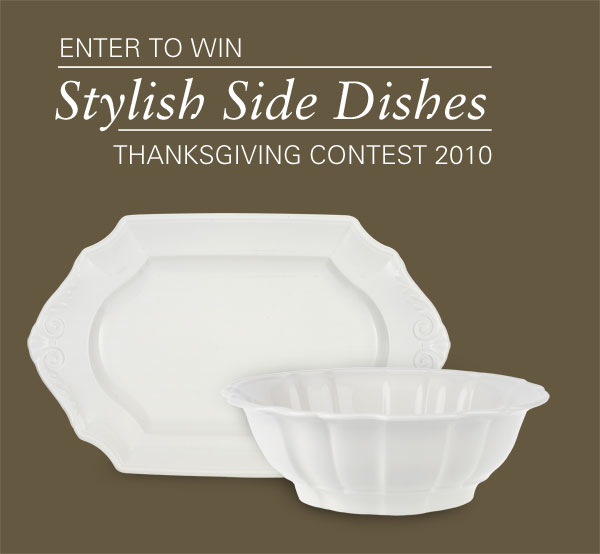 Win a Villeroy & Boch Country Heritage Platter & Vegetable Bowl