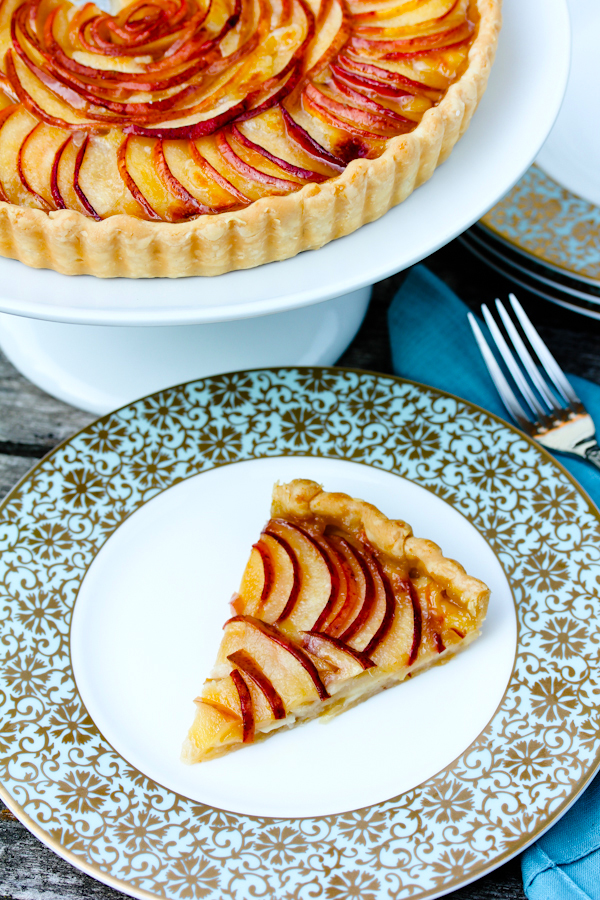 Brie and Pear Tart Recipe