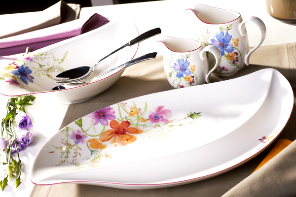 Villeroy Boch Fl Dinnerware Pattern