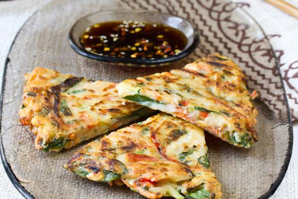 Recipe: Korean Pancakes (Pajun)