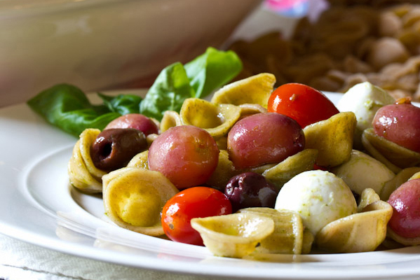 Recipe: Orecchiette with Roasted Grapes and Tomatoes