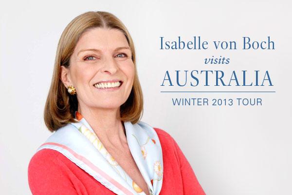 Isabelle von Boch: G'day Australia!