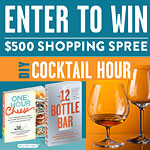 DIY Cocktail Hour Sweepstakes