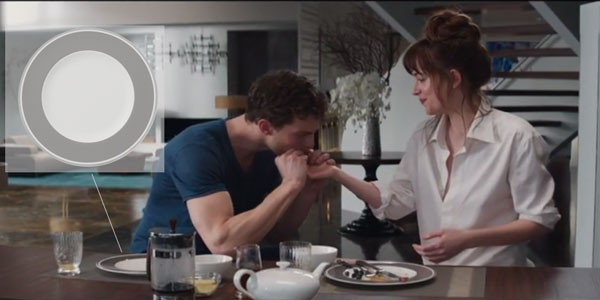 Get The Look: Christian Grey's Dinner Table