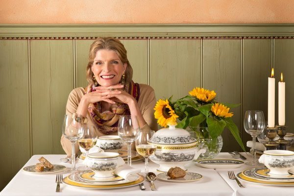 Thanksgiving Tablescape Tips from Isabelle von Boch