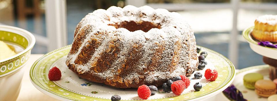 Almond Bundt Cake Recipe