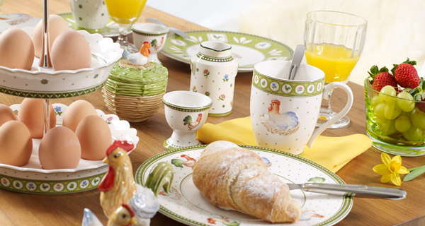 Easter Tablescapes by Villeroy & Boch