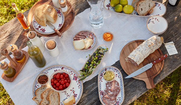 Artesano Lavender dinnerware