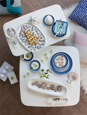 Give Your Holiday Table a Fresh Look with Casale Blue
