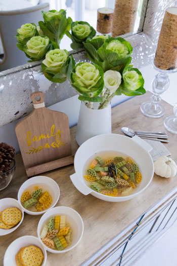 Create the Perfect Cold Weather Soup Buffet