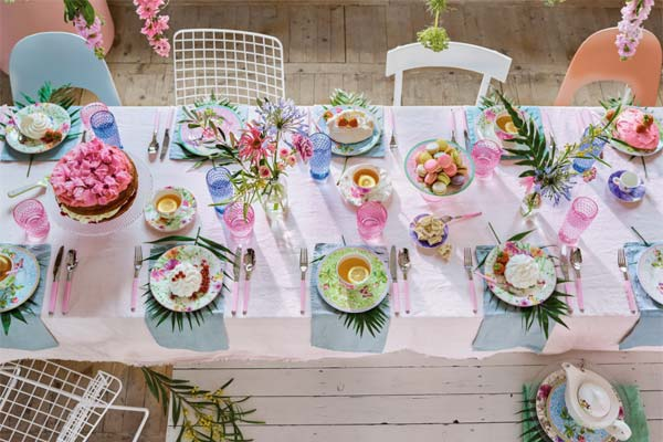 Isabelle von Boch's Tips for Adding a Spring Look & Feel to Your Table: Think Green