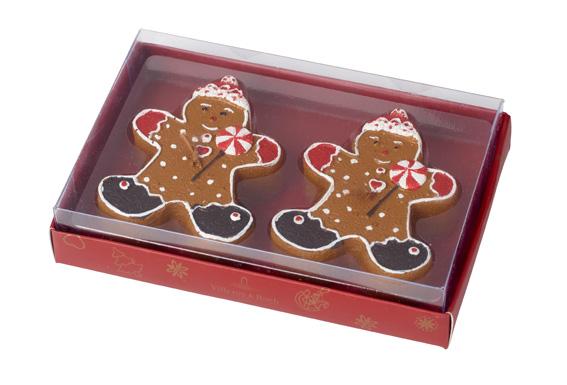 Villeroy & Boch gingerbread Christmas ornaments
