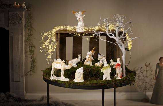 Villeroy & Boch porcelain nativity set