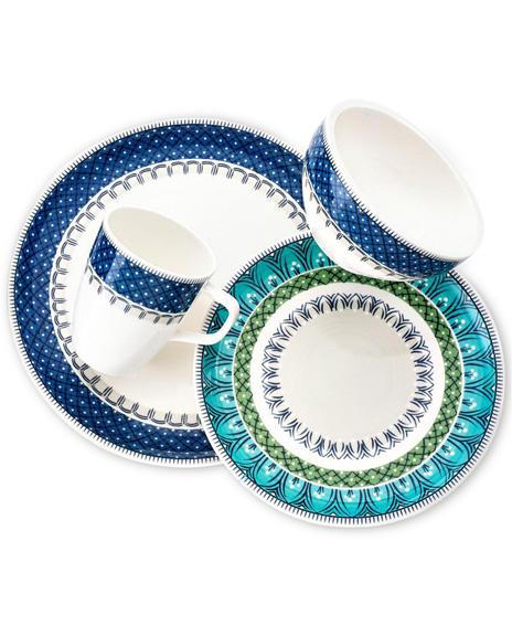 Villeroy & Boch Casale Blu four-piece set