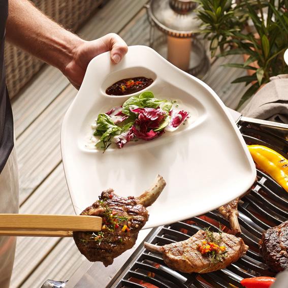 BBQ Passion Steak Plate