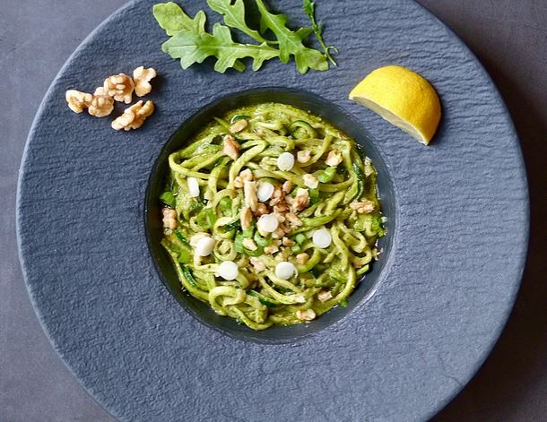 Vegan Arugula Pesto from Gather & Be