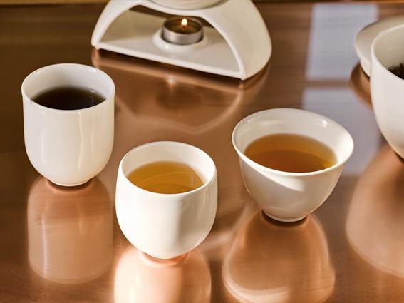 Tea Passion Black Tea, White Tea, and Green Tea Mugs