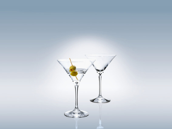 Villeroy & Boch Purismo Bar Martini Glass Set
