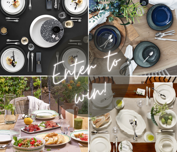 Style Guide Sweepstakes: Win a Tableware Set!